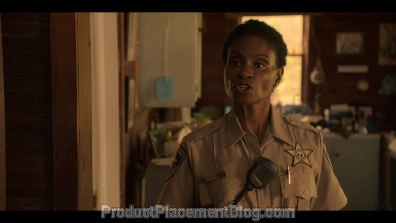 Motorola Radio Used by Adina Porter as Sheriff Peterkin in Outer Banks S01E01 (1)