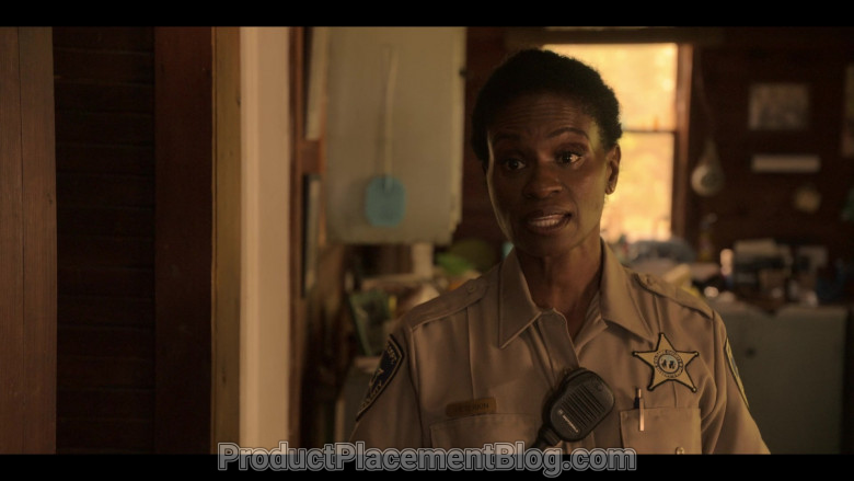 Motorola Radio Used by Adina Porter as Sheriff Peterkin in Outer Banks S01E01 (2)
