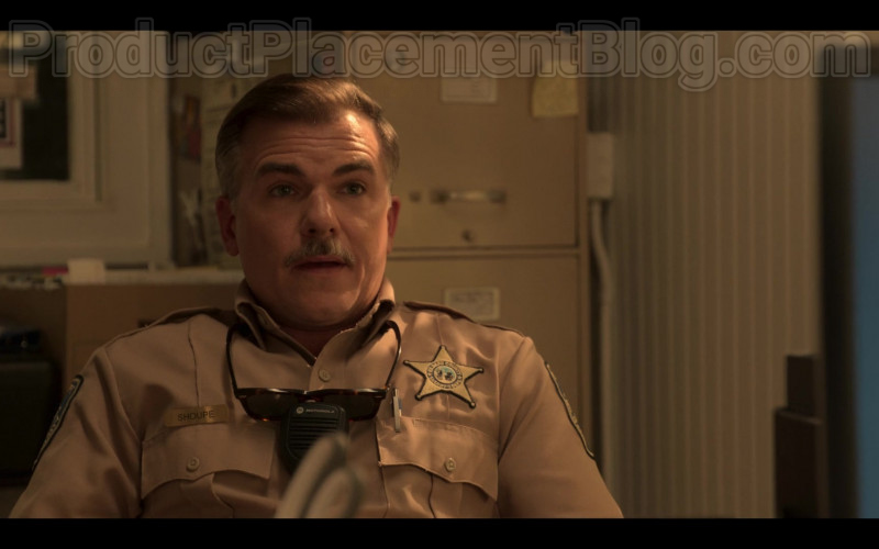 Motorola Radio Used by Cullen Moss as Deputy Victor Shoupe in Outer Banks S01E05
