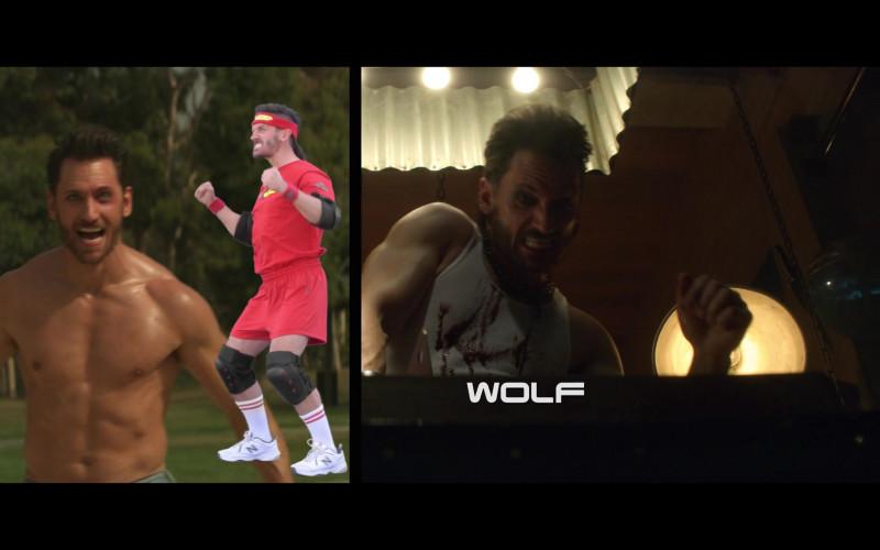 New Balance White Shoes Worn by Derek Wilson as Wolf in Future Man S03E01 (1)