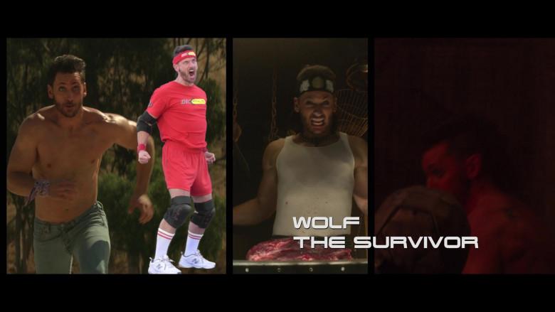 New Balance White Shoes Worn by Derek Wilson as Wolf in Future Man S03E01 (2)