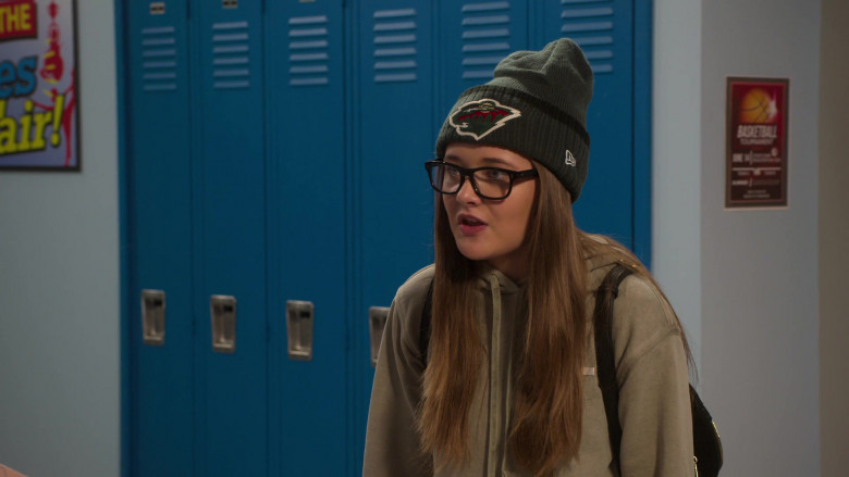 New Era Beanie Hat Worn by Reylynn Caster as Lola in The Big Show Show S01E02 (2)