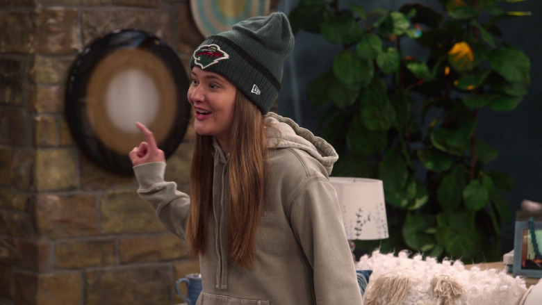 New Era Beanie Hat Worn by Reylynn Caster as Lola in The Big Show Show S01E02 (3)