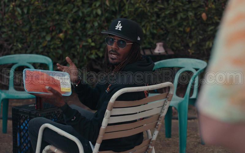 New Era LA Dodgers Black Cap in Dave S01E08