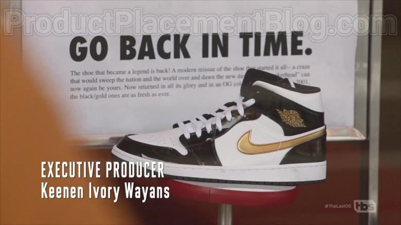 Nike Air Jordan Black & White Shoes in The Last O.G. S03E04 (2)
