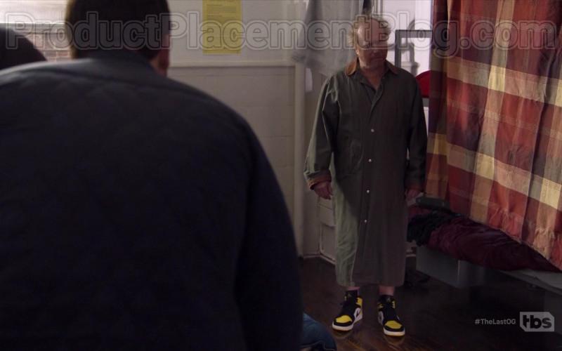 Nike Air Jordan BlackYellowWhite Sneakers in The Last O.G. S03E04 Fresh Jordans (2020)