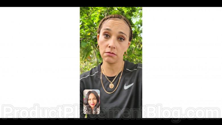 Nike Black Tee of Rashida Jones as Joya Barris in #blackAF S01E08