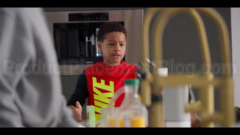 Nike Boys Red Hoodie in #blackAF S01E02 (1)