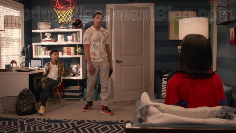 Nike High Tops Sneakers of Marcus Scribner in Black-ish S06E22