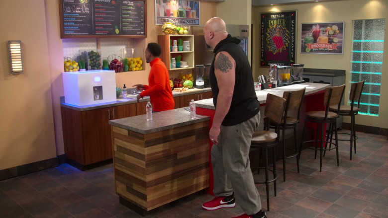 Nike Red Sneakers Worn by Paul Donald Wight II as Big Show in The Big Show Show S01E02 (1)