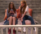 Nike Red Sneakers of Reylynn Caster in The Big Show Show S01E07 (1)