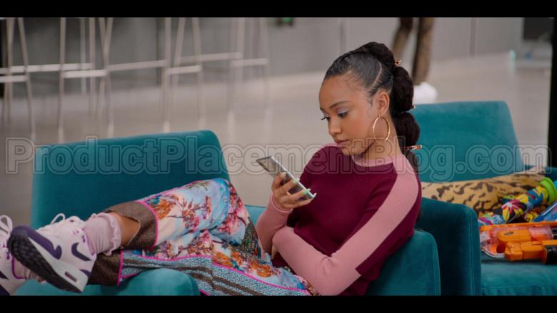 Nike Sneakers of Iman Benson as Drea Barris in #blackAF S01E03 (1)