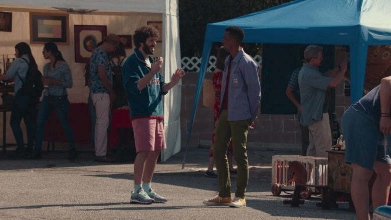 Nike Sneakers of Lil Dicky in Dave S01E07 (1)