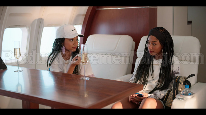 Nike White Cap For Women in #blackAF S01E08 (2)