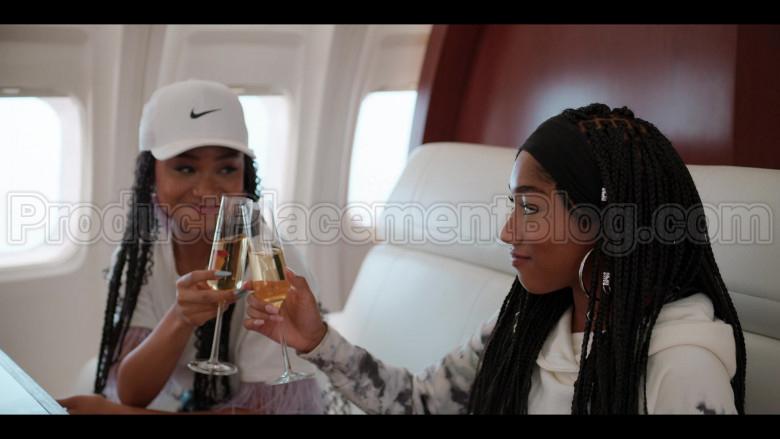 Nike White Cap For Women in #blackAF S01E08 (3)