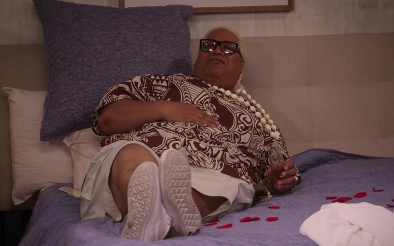 Nike White Shoes Worn by Solofa Fatu Jr. in The Big Show Show S01E06