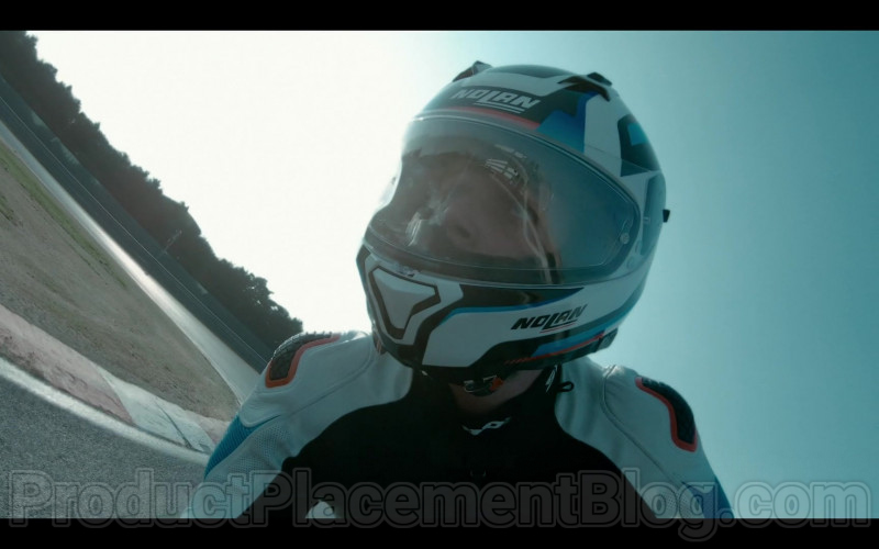 Nolan Motorcycle Helmet in Summertime S01E01 I Hate Summer (1)