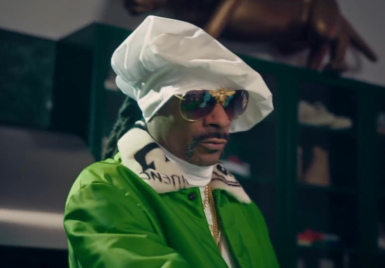 Nroda I'll Be Rich Forever Bee Sunglasses Worn by Snoop Dogg in Don't Waste My Time