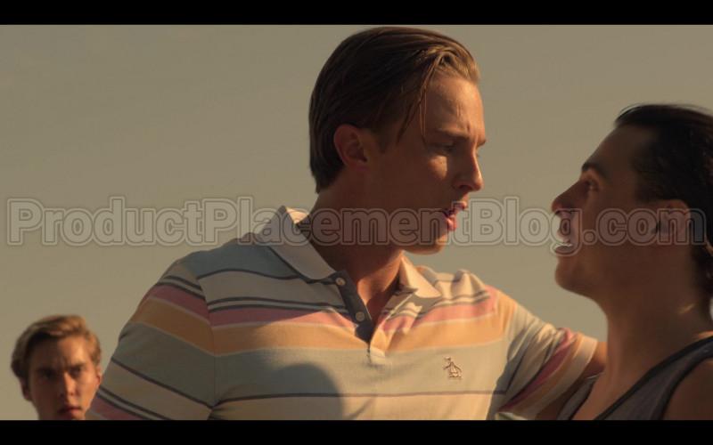 """Original Penguin Polo Shirt in Outer Banks S01E07 """"Dead Calm"""" (2020)"""