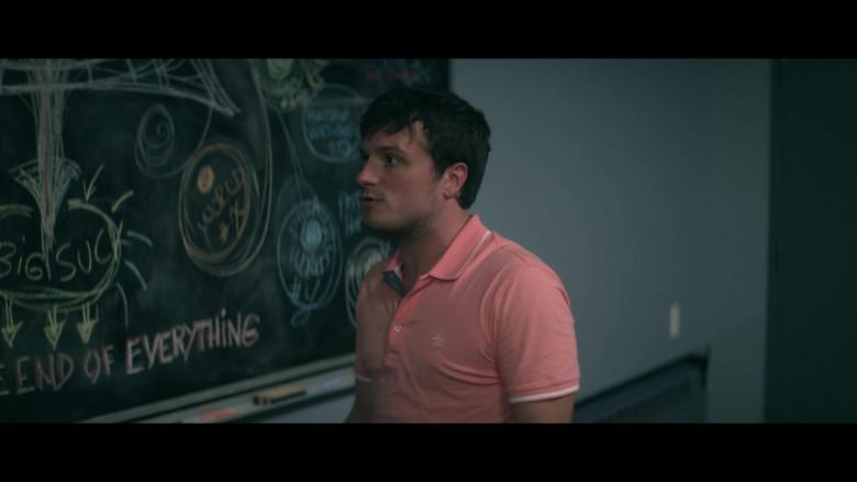 Original Penguin Shirt of Josh Hutcherson in Future Man S03E08 (1)