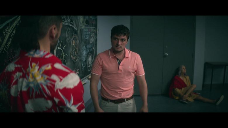 Original Penguin Shirt of Josh Hutcherson in Future Man S03E08 (2)