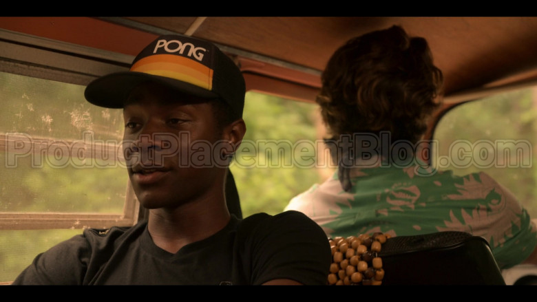 PONG Atari Men's Vintage Style Retro Snapback Hat Worn by Jonathan Daviss as Pope in Outer Banks S01E03 (3)