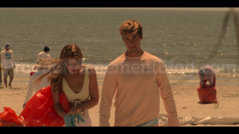 Patagonia Long Sleeve Tee of Austin North as Topper in Outer Banks S01E03 (1)