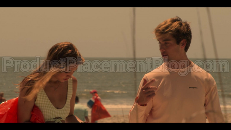 Patagonia Long Sleeve Tee of Austin North as Topper in Outer Banks S01E03 (2)