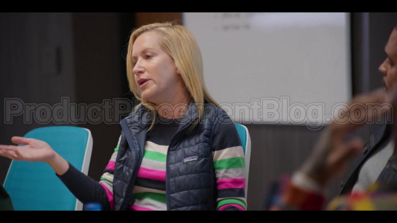 Patagonia Vest of Angela Kinsey in #blackAF S01E04 (3)