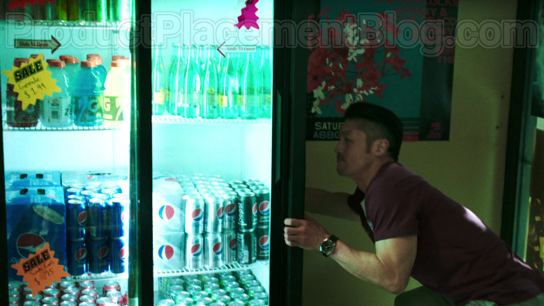 Pepsi and Gatorade in Chicago Med S05E20