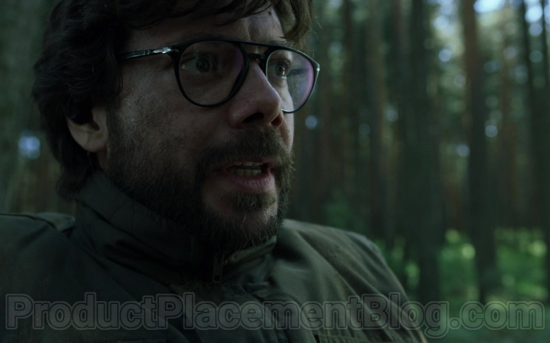 Persol Eyeglasses Worn by Álvaro Morte in Money Heist S04E01 (1)
