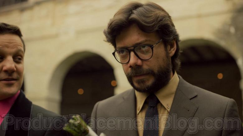 Persol Eyeglasses Worn by Álvaro Morte in Money Heist S04E01 (4)