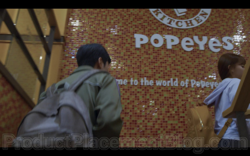 Popeyes Restaurant in Extracurricular Korean TV Show by Netflix (1)