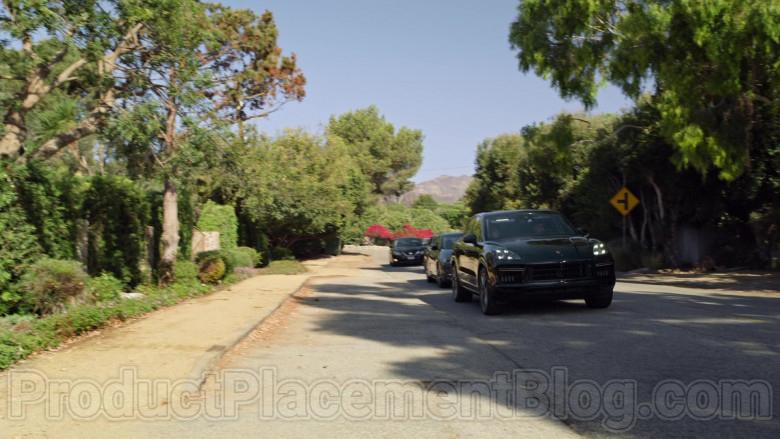 Porsche Cayenne Black Car Used by Jaren Lewison as Ben in Never Have I Ever Netflix TV Show (1)