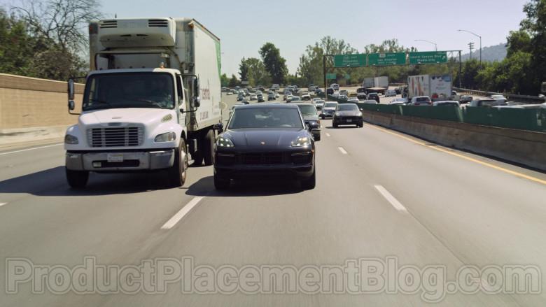 Porsche Cayenne Black Car Used by Jaren Lewison as Ben in Never Have I Ever Netflix TV Show (4)