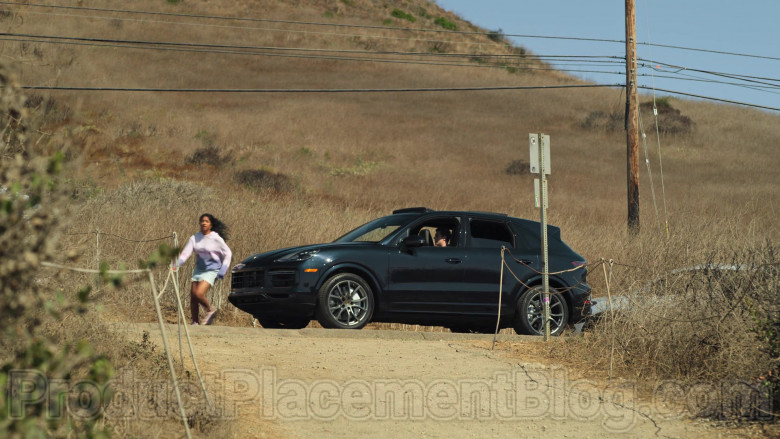 Porsche Cayenne Black Car Used by Jaren Lewison as Ben in Never Have I Ever Netflix TV Show (6)