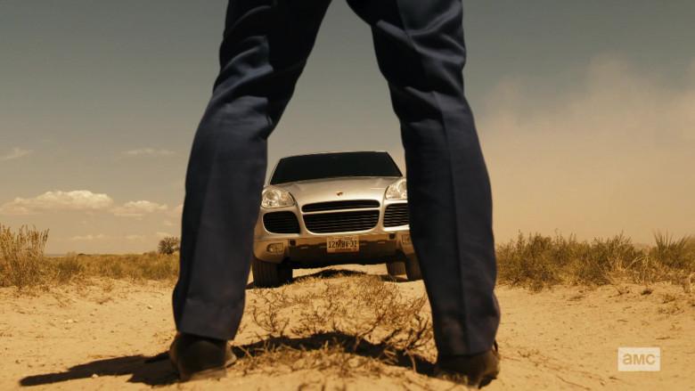 Porsche Cayenne Turbo Car in Better Call Saul S05E08
