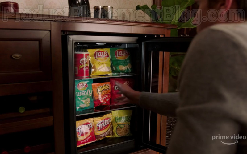 Pringles, Lay's, Cheetos, Doritos, Fritos & Funyuns in Upload Season 1 (2020)