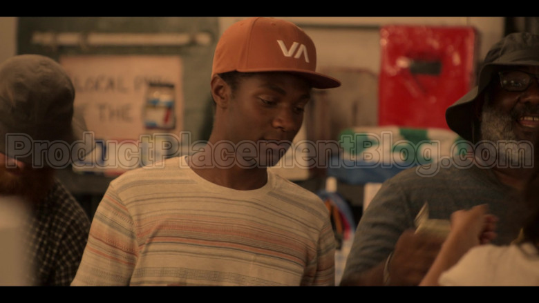 RVCA VA Cap Worn by Jonathan Daviss as Pope in Outer Banks S01E04 (2)