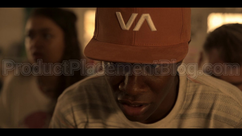 RVCA VA Cap Worn by Jonathan Daviss as Pope in Outer Banks S01E04 (4)