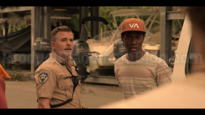 RVCA VA Cap Worn by Jonathan Daviss as Pope in Outer Banks S01E04 (5)