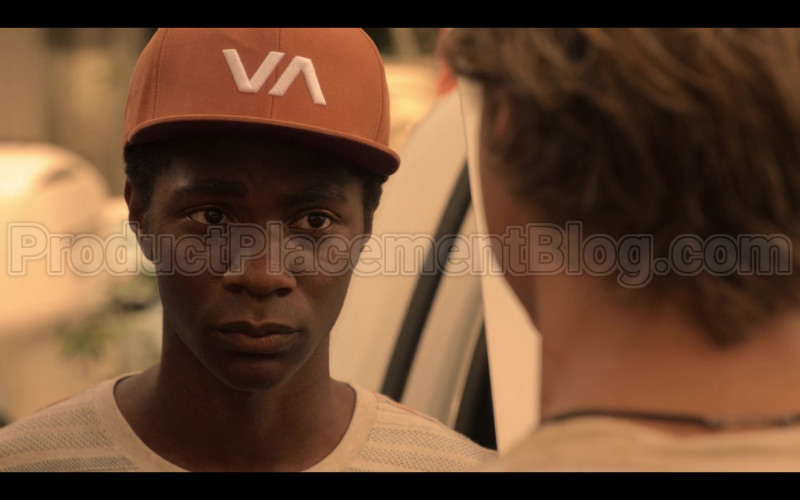 RVCA VA Cap Worn by Jonathan Daviss as Pope in Outer Banks S01E04 (6)