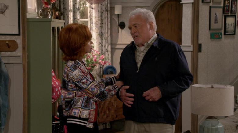Ralph Lauren Blue Jacket of Stacy Keach as Joe Burns in Man with a Plan S04E02 (2)