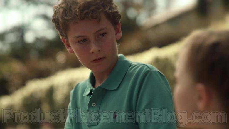 Ralph Lauren Boys Green Polo Shirt in Little Fires Everywhere S01E08