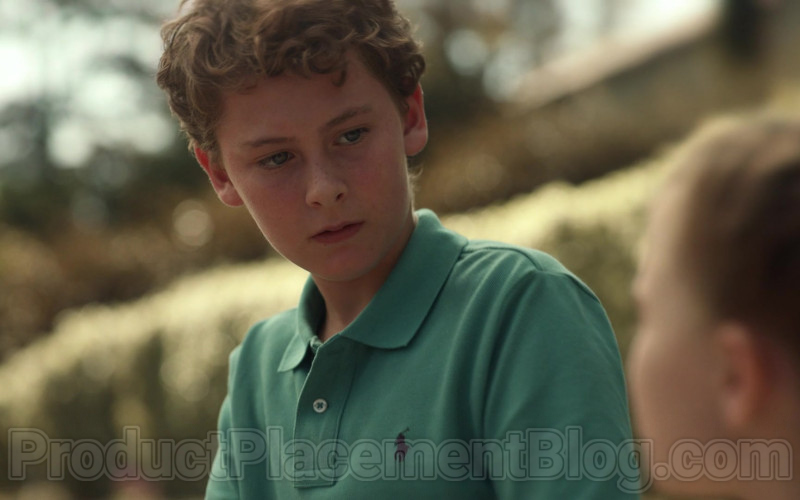 Ralph Lauren Boys Green Polo Shirt in Little Fires Everywhere S01E08