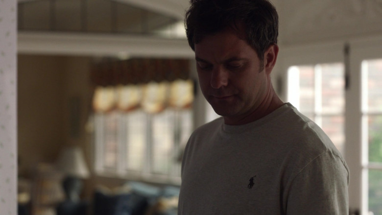Ralph Lauren Grey Tee Worn by Joshua Jackson as Bill Richardson in Little Fires Everywhere S01E05