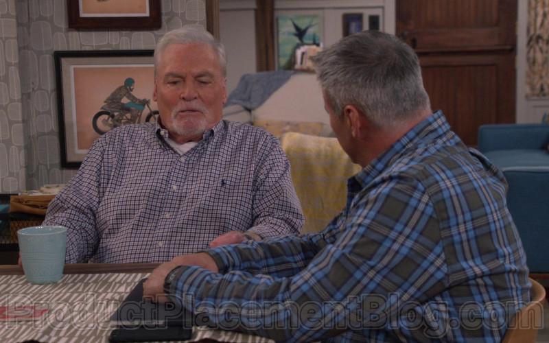 Ralph Lauren Long Sleeve Shirt of Stacy Keach in Man with a Plan S04E05