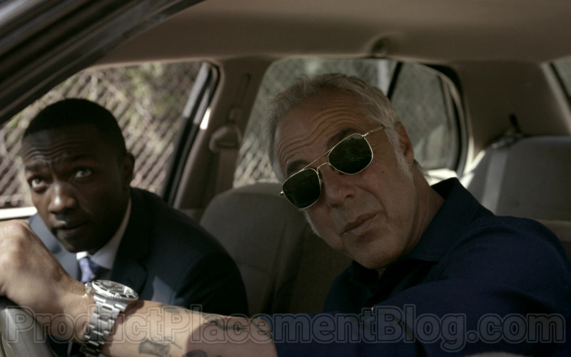 Randolph Aviator Sunglasses of Titus Welliver in Bosch Season 6 TV Show