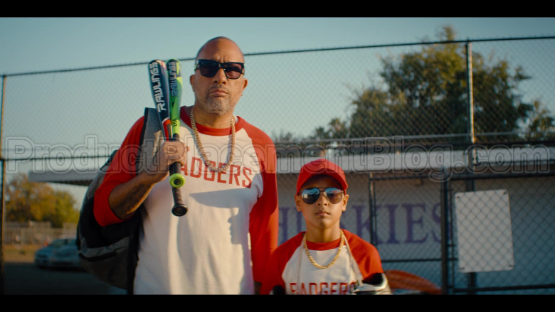 Rawlings Baseball Bats Held by Kenya Barris in #blackAF S01E04