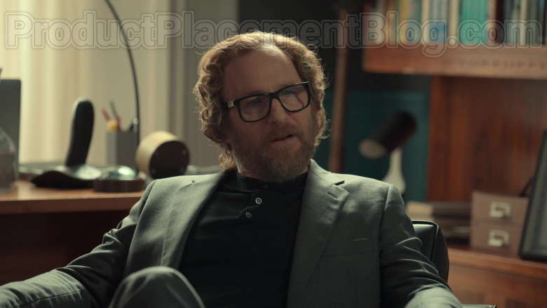 Ray-Ban Eyeglasses of Paul Kaye as Tony's Psychiatrist in After Life S02E01 (2)